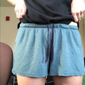 Project Social Los Angeles medium blue shorts